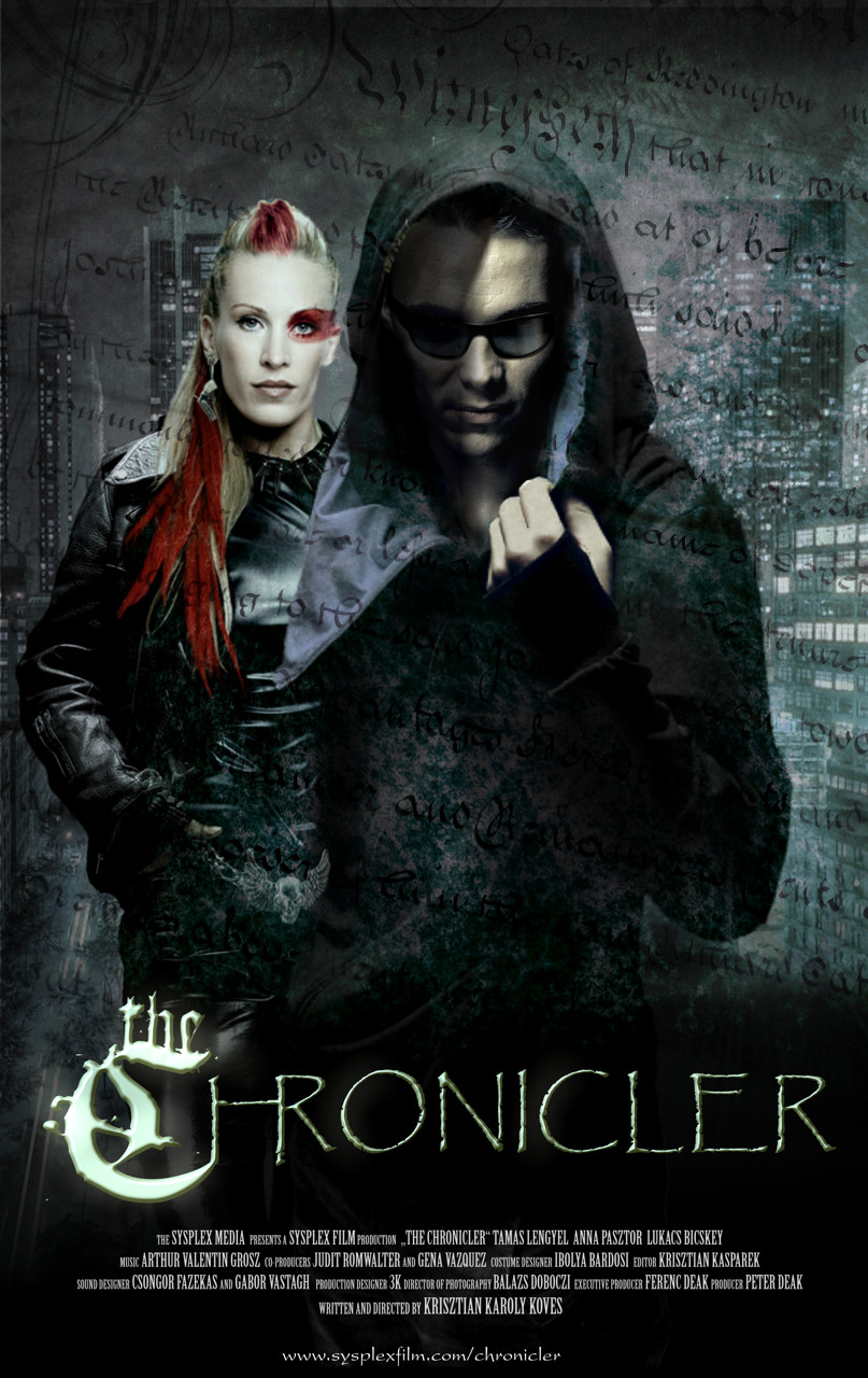 The Chronicler Poster for my TV series