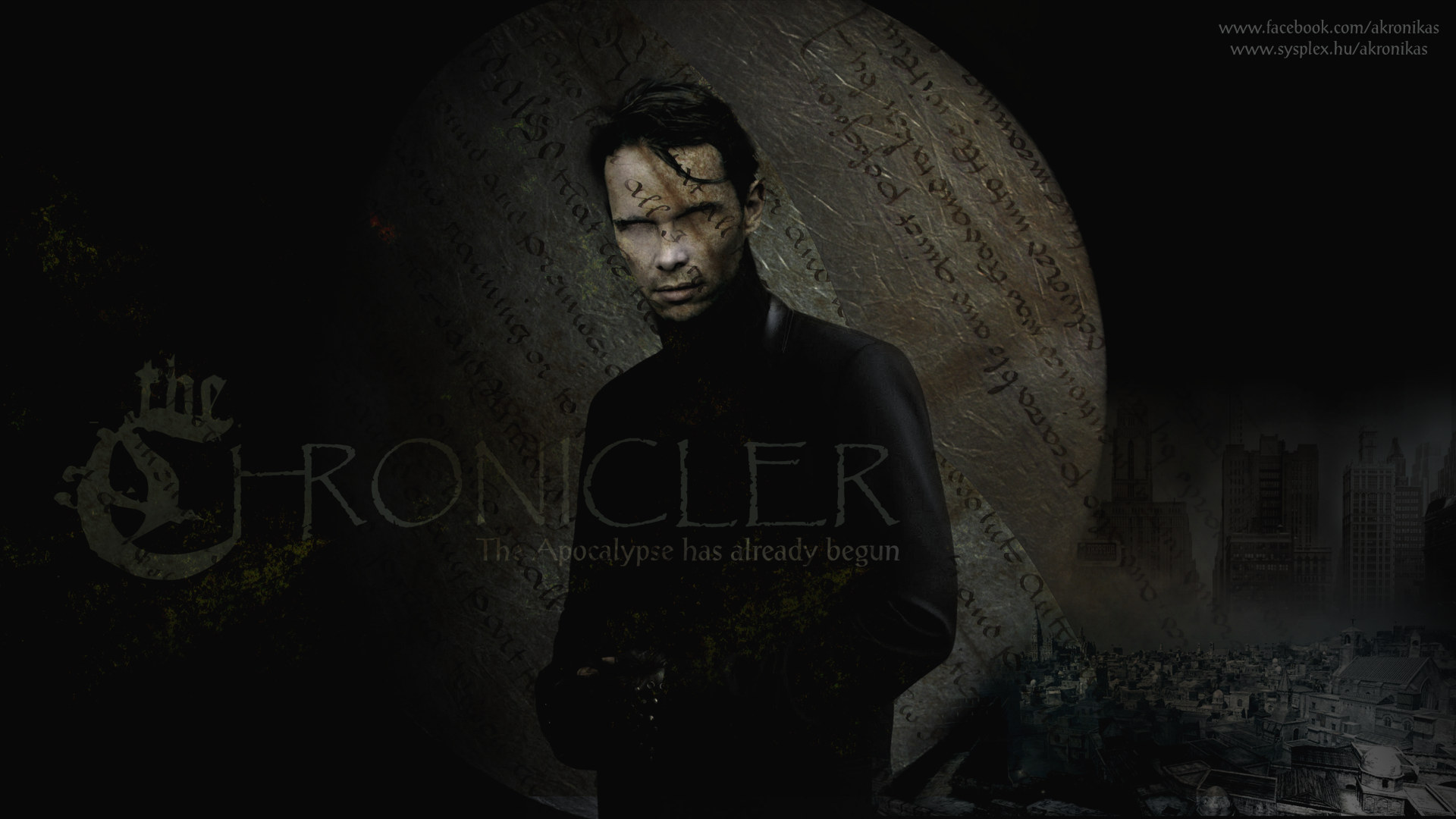 The Chronicler Concept art (2) for my TV series