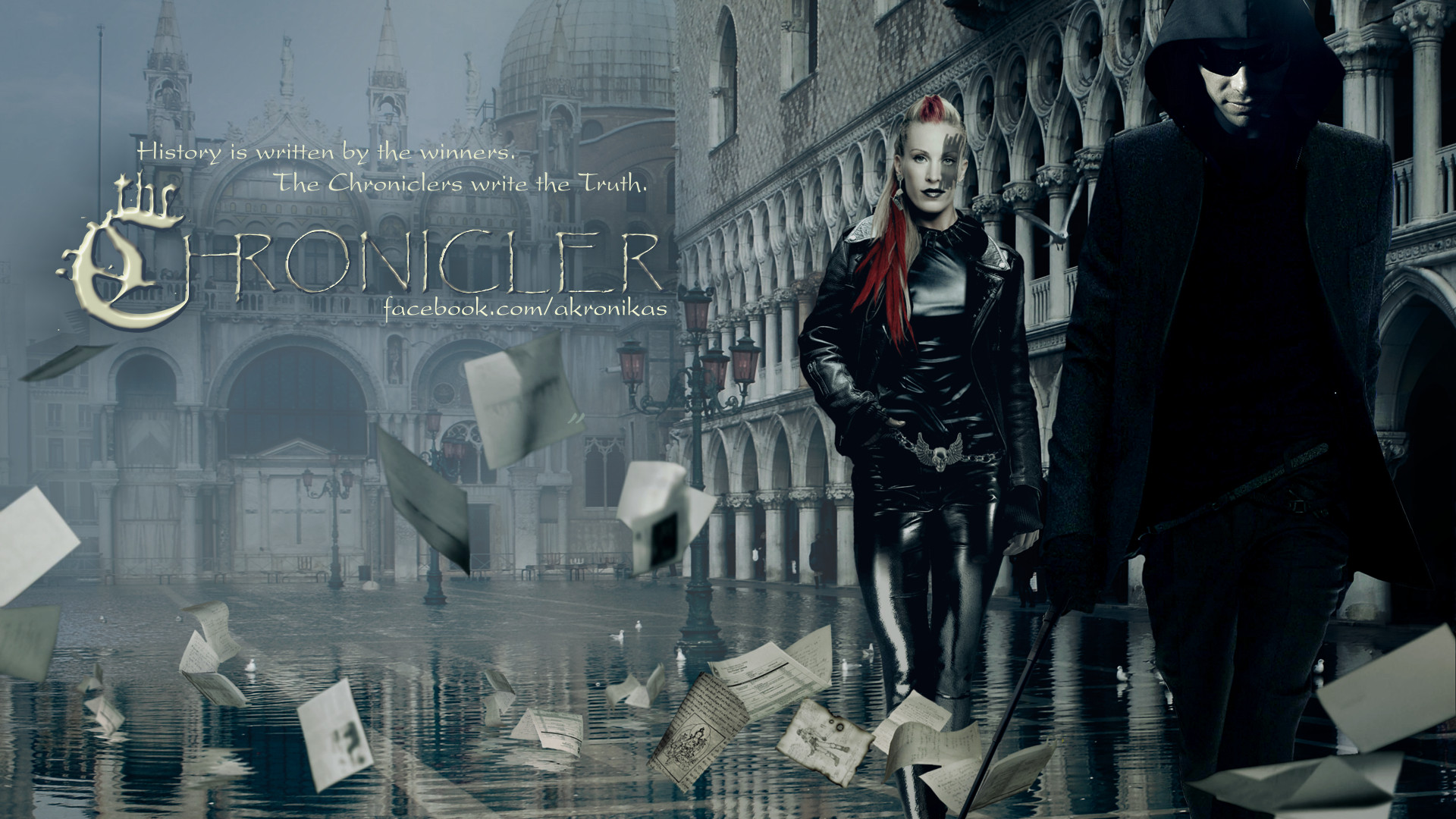 The Chronicler Concept art (3) for my TV series